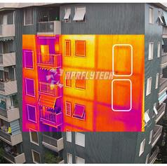 facciata ispezione infrarosso ricerca distaccamento infiltrazioni klinker