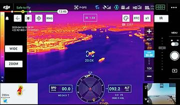 corso termografia drone matrice 300 dji enterprise aprflytech milano lombardia