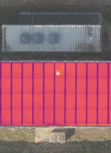 hotspot impianto fotovoltaico ispezione
