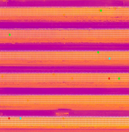 schema anomalie termiche hot spot impianto fotovoltaico pannello