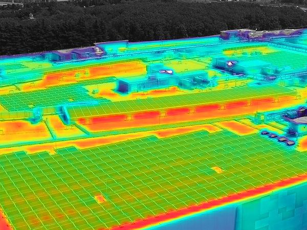 corso di termografia con drone