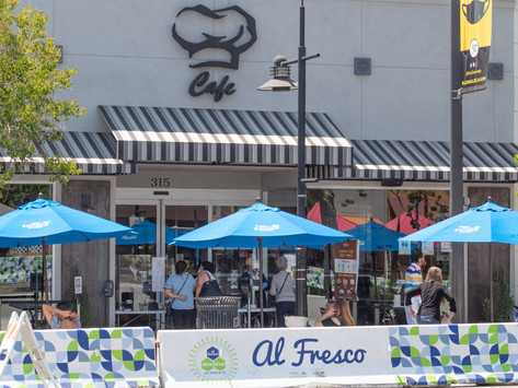 Street corner dining to be extended