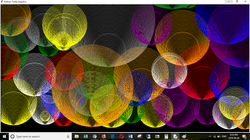 Colorful creation with Programming by teenagers