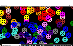 Smiley faces with Python