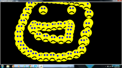 teenagers made smiley faces using Coding