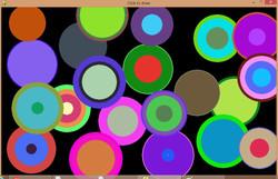 Kids made Colorful pattern using Coding