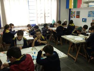 Atividade Interdisciplinar de Artes e Língua Portuguesa