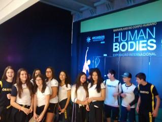Saída pedagógica: Human Bodies (8º ano)