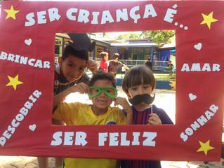 Festa das Crianças no Objetivo KIDS