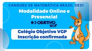 Participação Confirmada - Olimpíada Canguru de Matemática