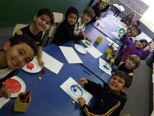 Aprendendo sobre a Xilogravura (Infantil 3 B)