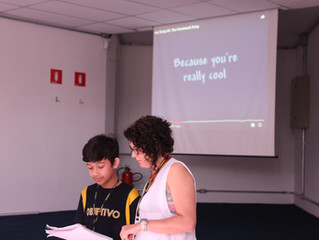 Studying the Present Continuous (6º ano)