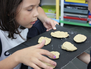 Aprendendo sobre Fósseis