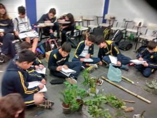 Aula prática: Botânica.