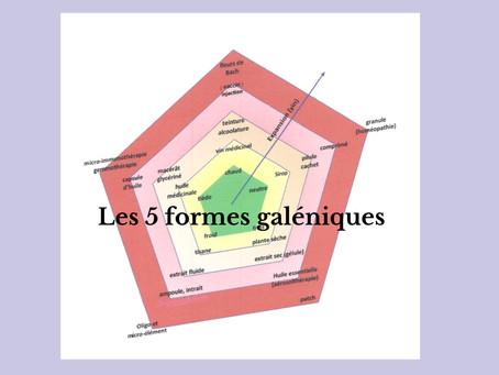 Les 5 formes galéniques