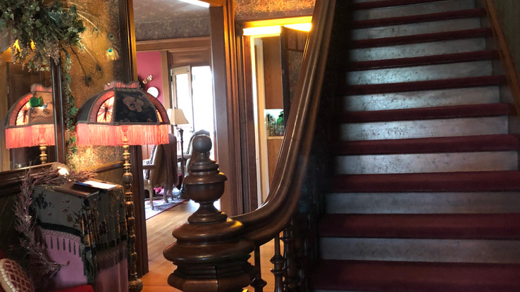 Staircase in North Mansion