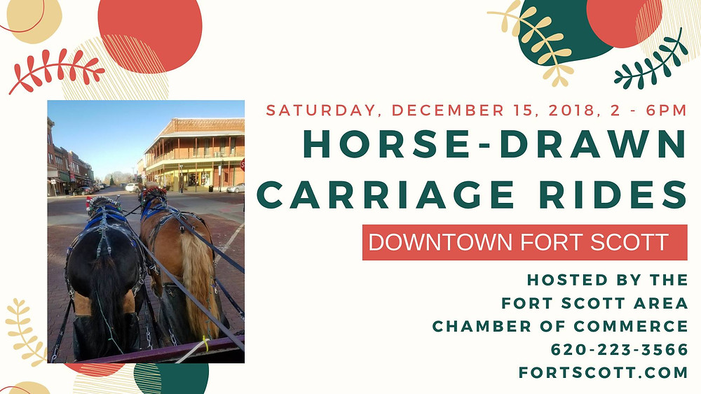 Horse-drawn Carriage Rides - Downtown Fort Scott