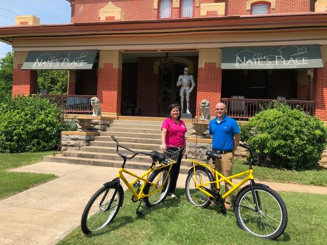 Ft. Scott Bike Share Program at Nate's Place