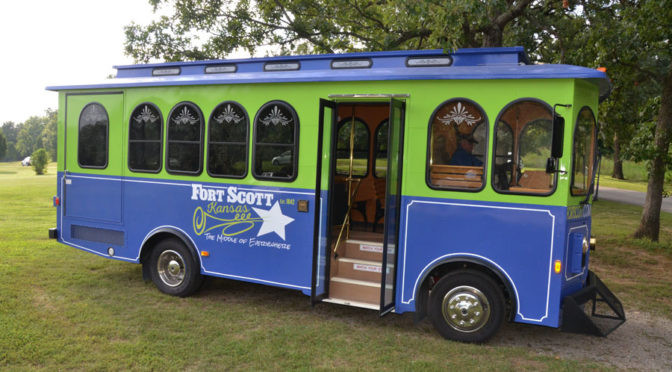 The Trolley Tour in Ft. Scott KS