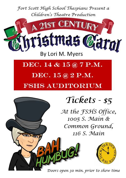 A 21st Century Christmas Carol - Presented by FSHS