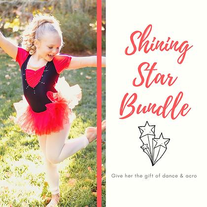 Shining Star Peewee Girls Dance & Acro Gift Package