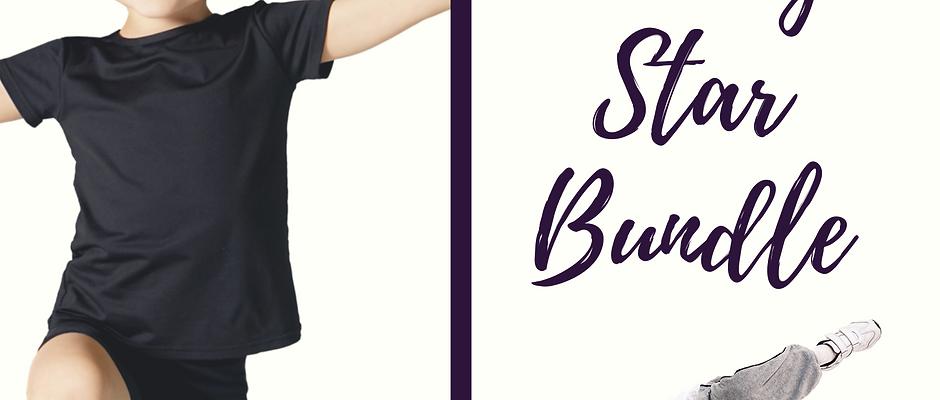 Shining Star Peewee Boys Dance & Acro Gift Package