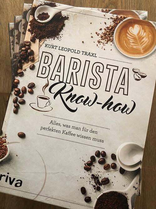 """Buch """"Barista Know How"""" von Kurt Traxl"""