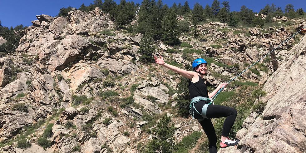 She Sends: Gym To Crag' Outdoor Climbing Clinic