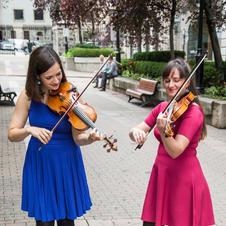Concert improvisé dans le Vieux Montréal