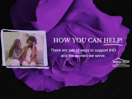 The Active Participation of our Community Changes the Lives of Women Fleeing Violence.