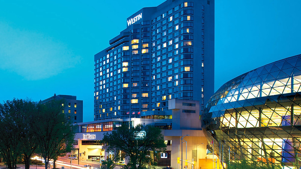 The Westin hotel in downtown Ottawa