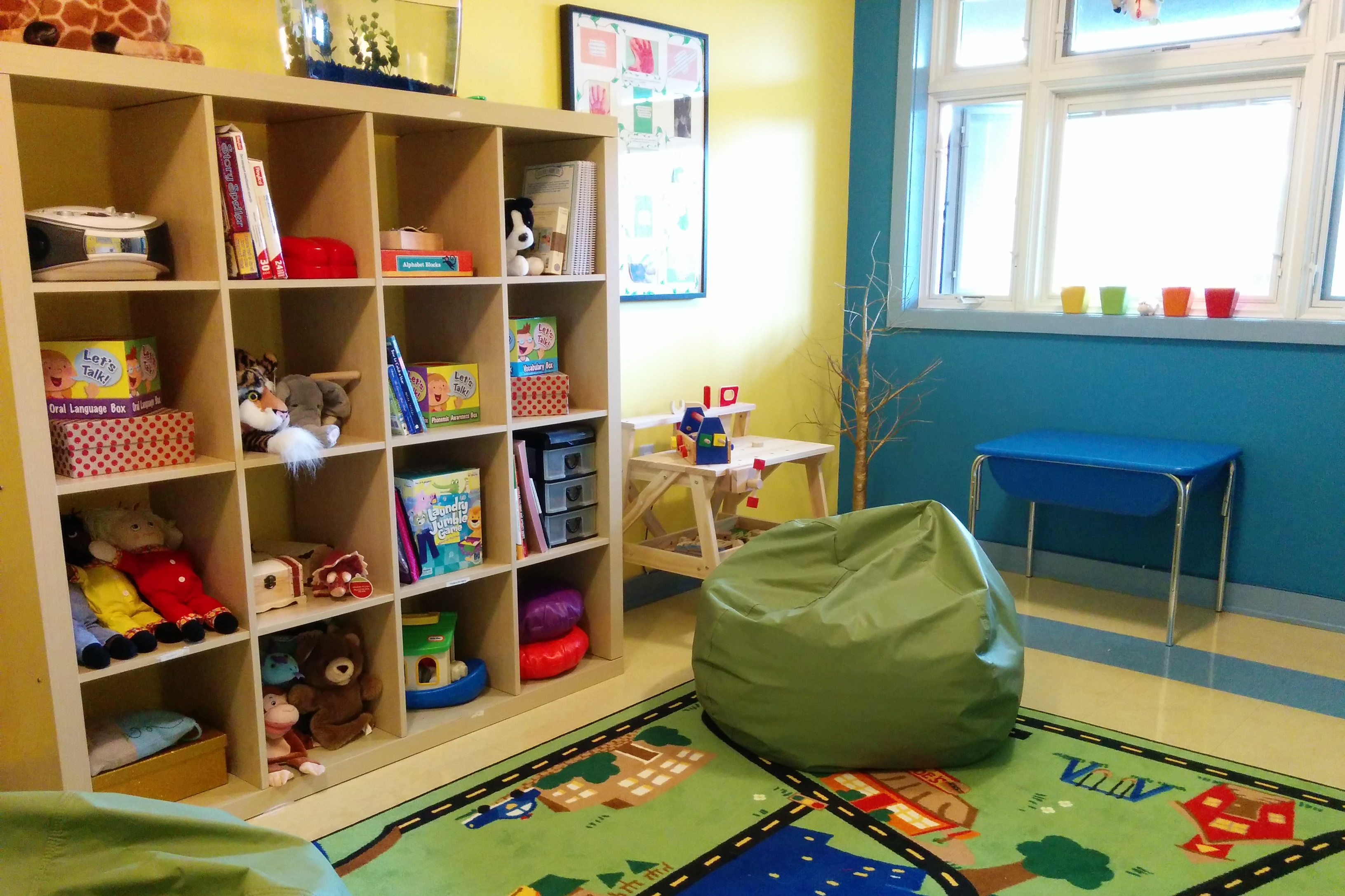 IHO kids counselling room