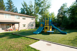 Interval House of Ottawa playground