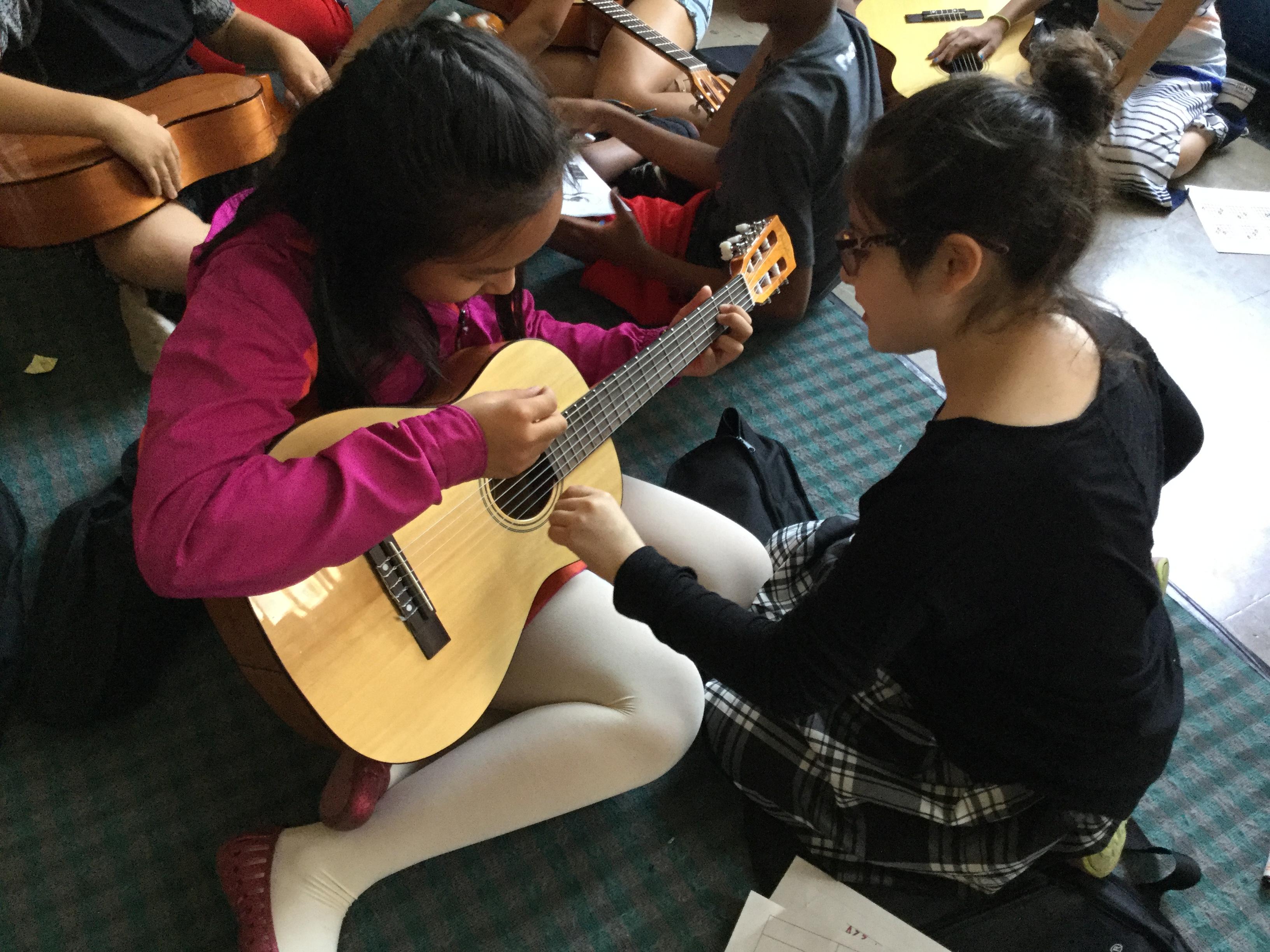 4th Grade Guitar Players