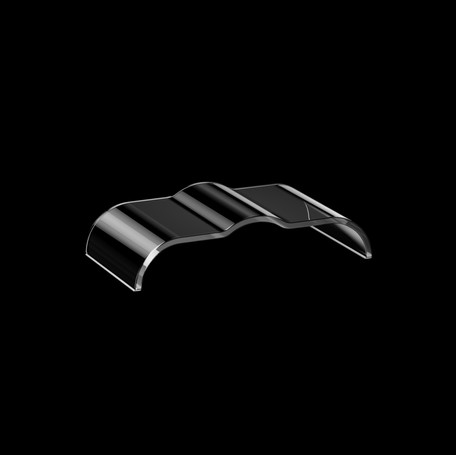 3D Visualisierung - Uhrenglas