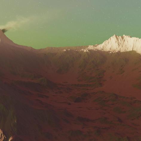 3D Animation - Marsoberfläche