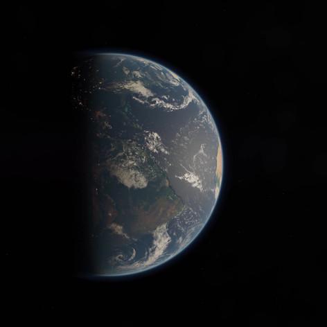 3D Animation - Erde