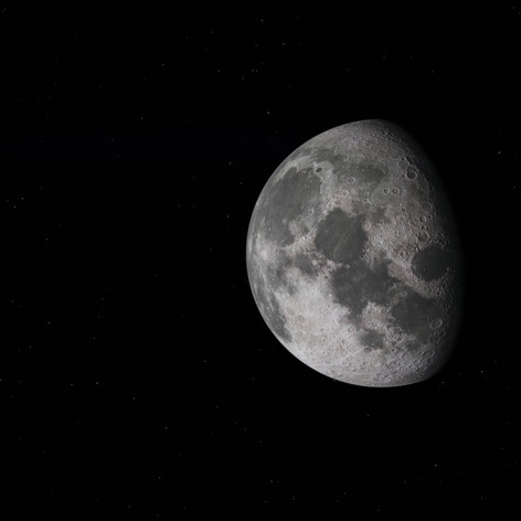 3D Animation - Mond