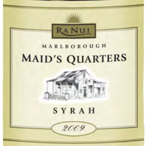 Maid's Quarters - Syrah