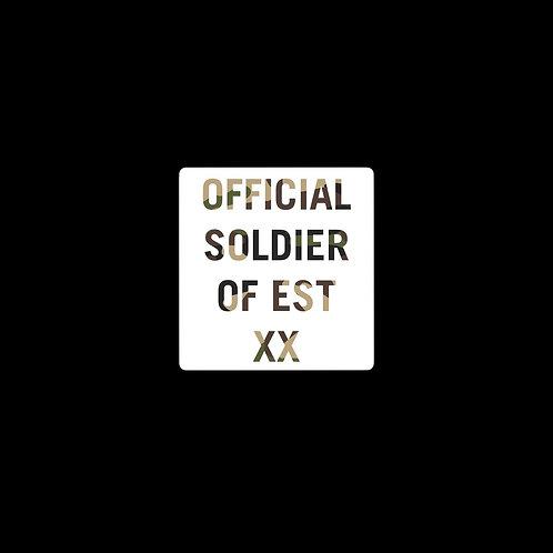 EST Soldier Sticker