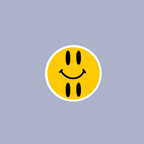 Happy/Sad Sticker