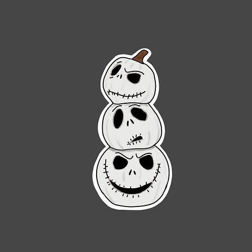 Jack Skellington Sticker