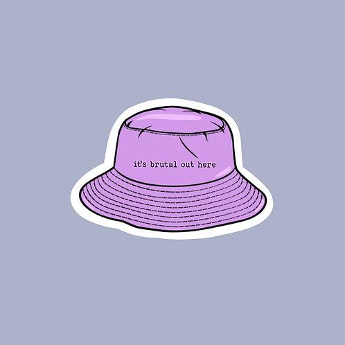 Bucket Hat Sticker