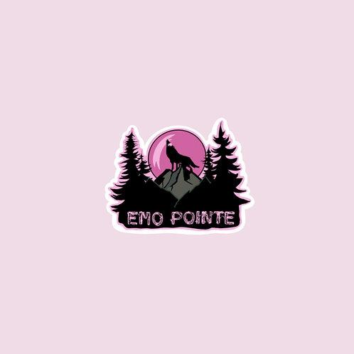 Emo Pointe Sticker