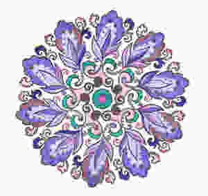 Purple Mandala La Voix Etoilée
