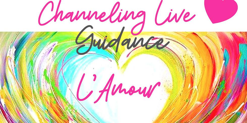 Channeling Live dédié à l'Energie d'Amour