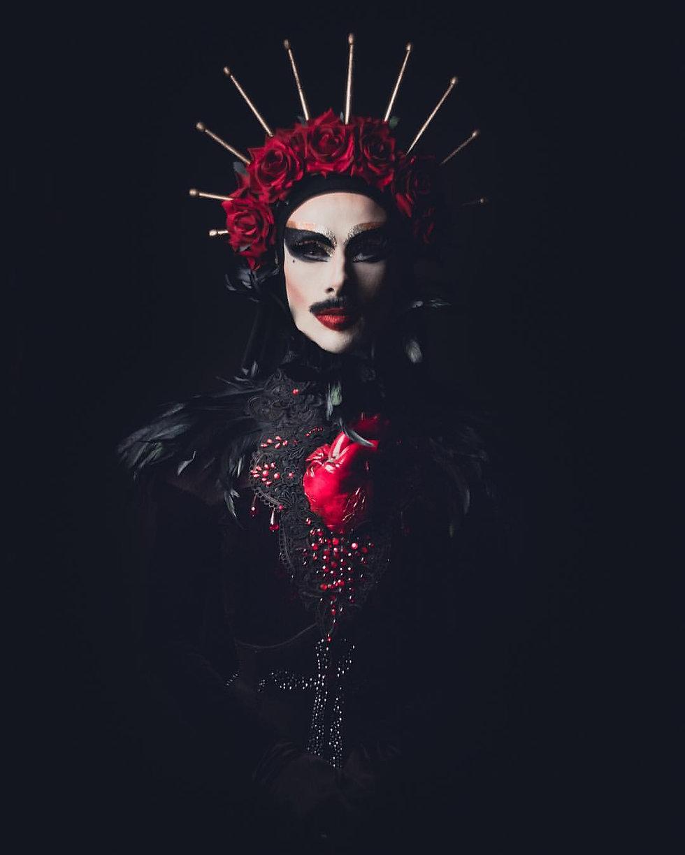 Virgin Xtravaganzah, Virgin xtravaganza, virgin mary drag queen, virgin,