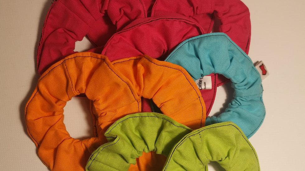 Chouchous coton unis