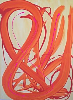 Interprétation libre orange