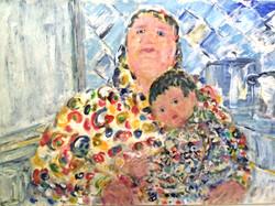 Mère Russe et enfant